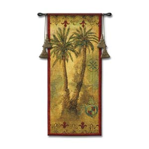Masoala Panel I Woven Wall Tapestry