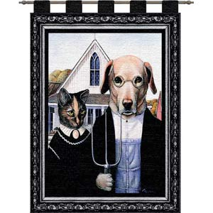Animal Gothic Wall Tapestry