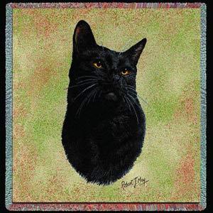 Black Cat Lap Square