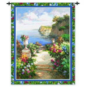 Tranquil Overlook Tapestry Wall Hanging