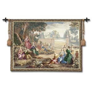 Harmony Wool Woven Wall Tapestry
