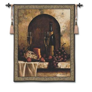 Date To Remember Large Woven Wall Tapestry