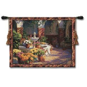 La Fuente Seca Woven Wall Tapestry
