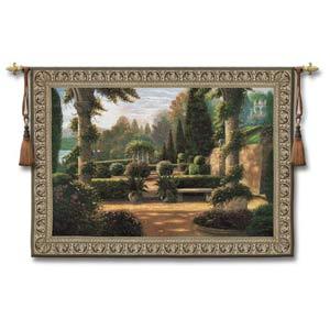 Parterre De La Vierge Large Woven Wall Tapestry