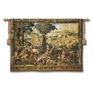 Hunts Of Maximilian Large Woven Wall Tapestry