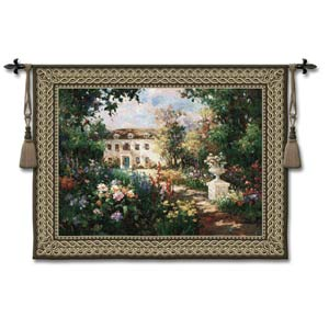 Aix En Provence Small Woven Wall Tapestry