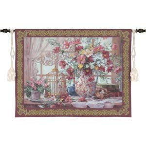 Queen Annes Lace Wall Tapestry