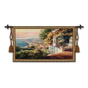 Balcony Woven Wall Tapestry