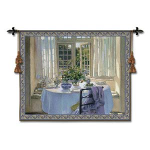 Morning Room Large Woven Wall Tapestry
