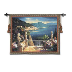 Amalfi Holiday Woven Wall Tapestry
