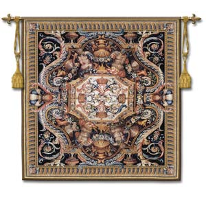 Galerie Du Bord Large Wool Woven Wall Tapestry