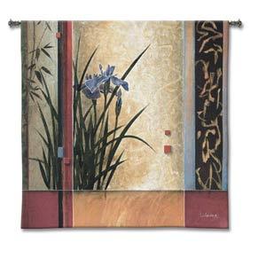 Garden Gateway Woven Wall Tapestry