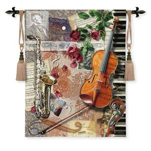 Ensemble Tapestry Wall Hanging