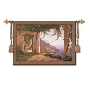 Amalfi Dai Cappuccini Small Woven Wall Tapestry