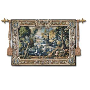 Tapestry Landscape Wool Woven Wall Tapestry