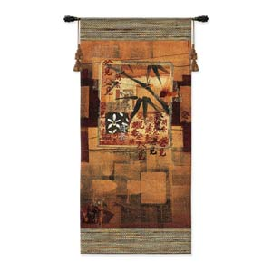 Bamboo Inspirations I Woven Wall Tapestry