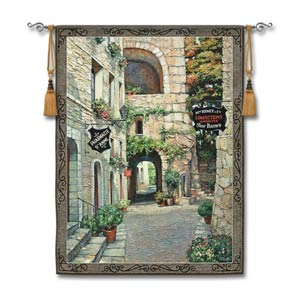 Italian Country Vill II Woven Wall Tapestry