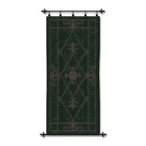 Nottingham Scroll Woven Wall Tapestry