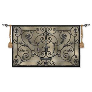 French Elegance Woven Wall Tapestry