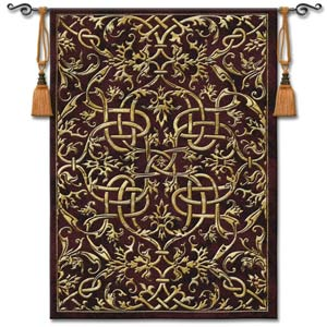 Porte Sienne Woven Wall Tapestry