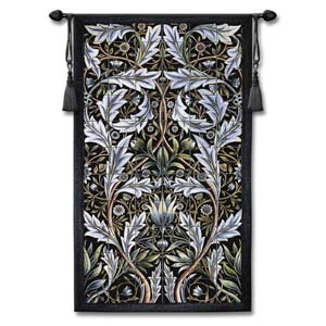 Panel Of Tiles Large Woven Wall Tapestry