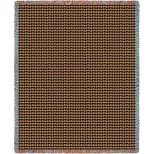 Houndstooth Terra Throw