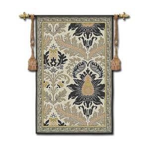 Framed Silk Road Woven Wall Tapestry