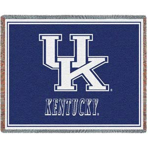 Univ of Kentucky Initials Throw