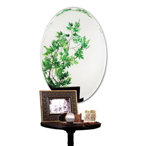 24 x 36-Inch Tapered Bevel Mirror