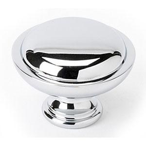 Polished Chrome Brass 1 1/4-Inch Knob