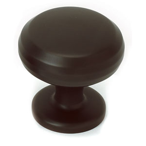 Chocolate Bronze Brass 1 1/4-Inch Knob
