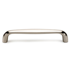 Satin Nickel Brass 6-Inch Pull