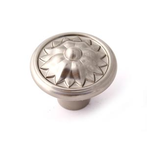 Fiore Satin Nickel 1 1/4-Inch Knob