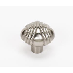 Venetian Satin Nickel 1 1/2-Inch Knob
