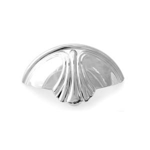 Venetian Polished Chrome 3-Inch Cup Pull