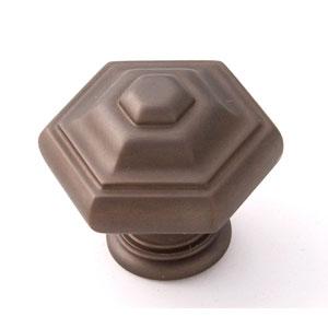 Chocolate Bronze Brass 1 1/4-Inch Knob