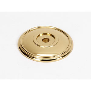 Polished Brass 1 3/8-Inch Rosette
