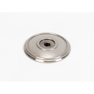 Satin Nickel Brass 1 3/8-Inch Rosette