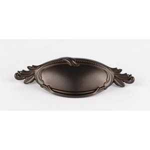 Hickory Chocolate Bronze 4-Inch Cup Pull