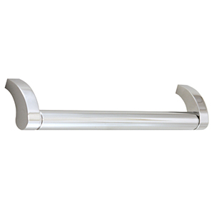 Circa Polished Chrome 6-Inch Cabinet Pull