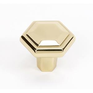 Nicole Polished Brass 1 1/4-Inch Knob