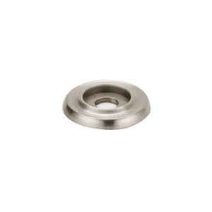 Satin Nickel 1-Inch Backplate