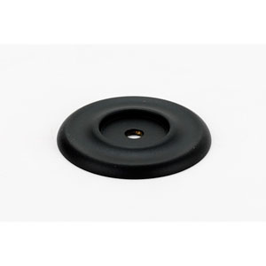 Matte Black 1 3/4-Inch Backplate