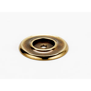 Polished Antique 1 3/4-Inch Backplate