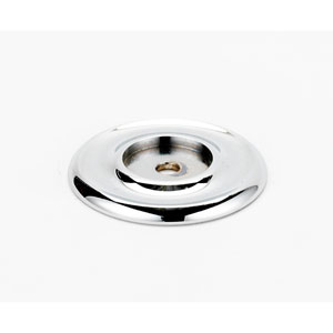 Polished Chrome 1 3/4-Inch Backplate