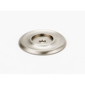 Satin Nickel 1 3/4-Inch Backplate