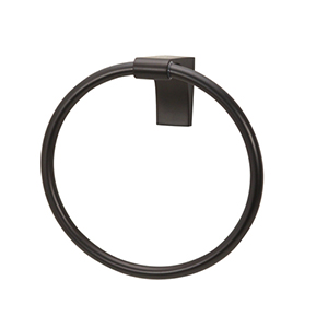Luna Bronze Towel Ring