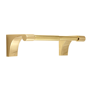 Luna Polished Brass Tissue Holder