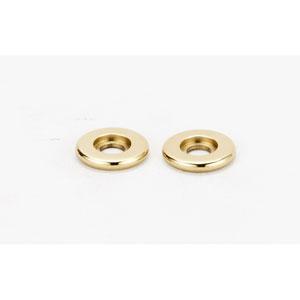 Polished Brass 5/8-Inch Rosette