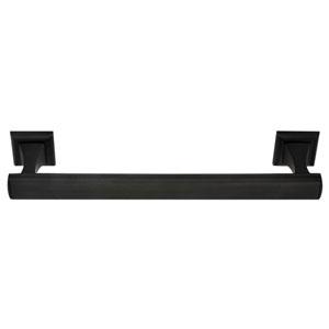 Manhattan Bronze 12-Inch Towel Bar